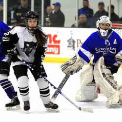 St. Dominic girls hockey outlasts Mt. Ararat