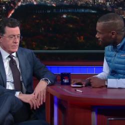 DeRay Mckesson interviews Stephen Colbert.