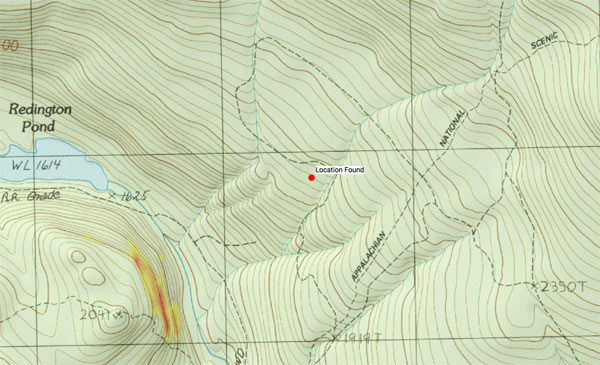 New Details Shed Disturbing Light On Largay Case Chris Busby - Appalachian trail topo map