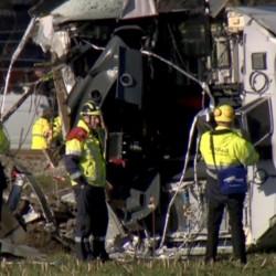 Close call with D.C. train crash