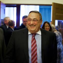 LePage tells legislative leaders he's moving out of State House because of 'censorship'