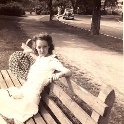 Doris Thompson in Birmingham, Alabama, circa 1945.