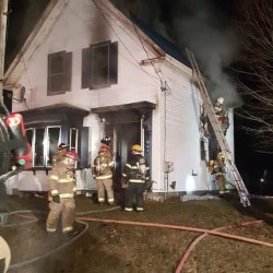 Mt. Vernon home, business destroyed by fire