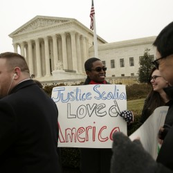 Scalia's dissent in immigration case called strident, partisan