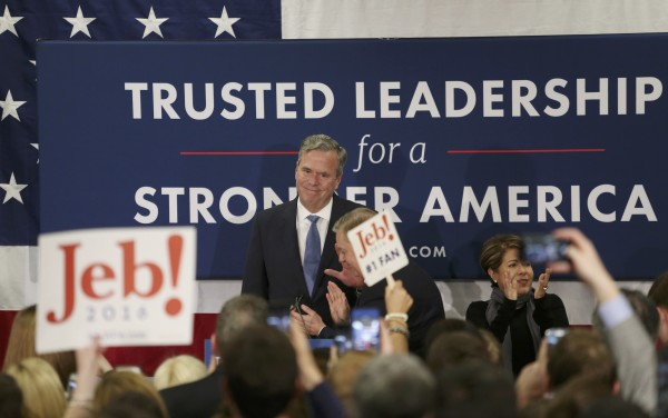 jeb bush never really had a chance in the 2016 presidential race