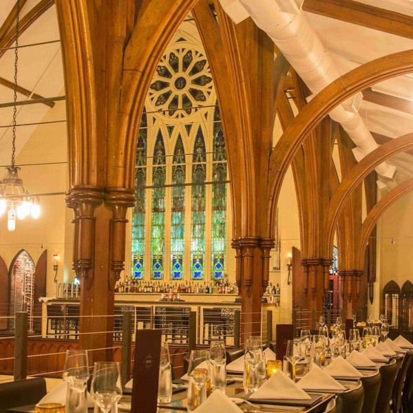 Located in a Gothic revival church in downtown Portland, Grace inspires edible epiphanies.