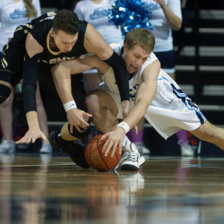 Planning, cooperation help UMaine athletics hold successful 'Beach Night' basketball promotion