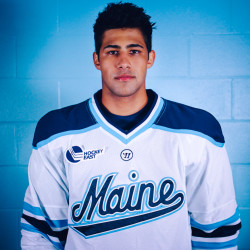 University of Maine forward Danny Perez.