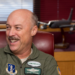 Glenburn man steps down as commander of Maine Air National Guard