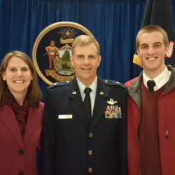 Maine Air guard gets new leader, receives 'unprecedented' award