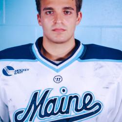 University of Maine hockey goalie Matt Morris.