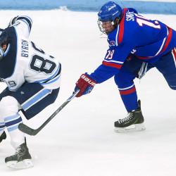 Freshmen lead six-goal second-period outburst as Maine hockey team beats UMass