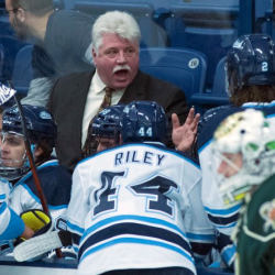 New hockey coach's connections to UMaine's past has fans hopeful about future