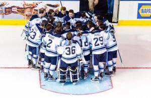 Maine women's hockey team rallies by No. 9 Quinnipiac
