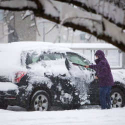 Dangerous wind chills putting state into deep freeze; snowstorm bearing down on south, coast