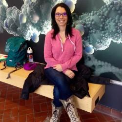 Antarctic columnist Meg Adams hands-on in nursing school