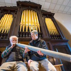 Concert by Ray Cornils May 19 on Calais church's restored organ