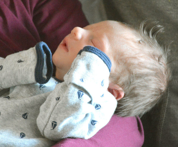 Wil Vander Lugt, the son of Amanda Adcock and Chad Vander Lugt, was the state's first baby born in 2015. He arrived at 12:48 a.m. at MaineGeneral in Waterville.