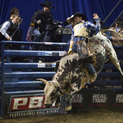 Professional Bull Riders competitors praise Bangor-area fans after two more sellouts