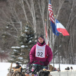 What's in your bag for the sled dog race?