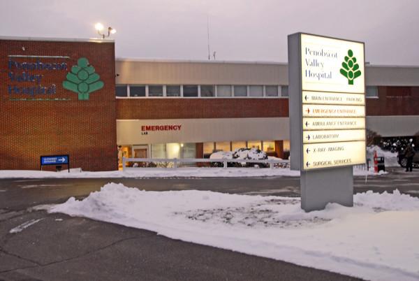 Penobscot Valley Hospital of Lincoln as seen on Friday, Nov. 28, 2014.