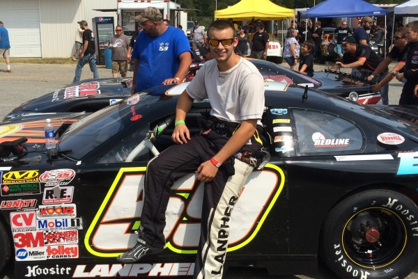 Manchester teen eyes debut in pro auto racing series — Sports