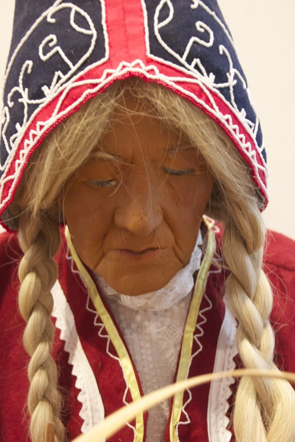 Margaret Nichols' face can be seen on this mannequin.