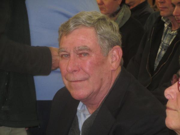 Walter Reitz was elected selectman at Tuesday night's South Thomaston town meeting.