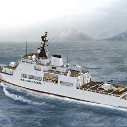 Bath Iron Works in running to build new Coast Guard vessels