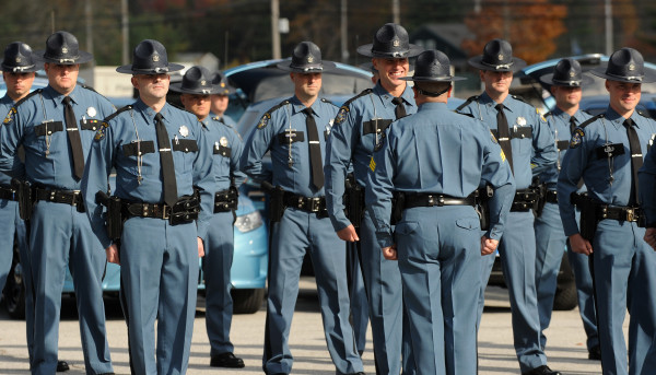 state troopers pay by state