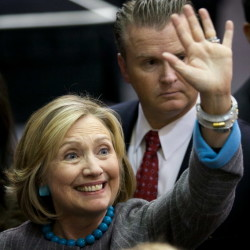 Clinton slips in poll amid Benghazi criticism as Christie rises