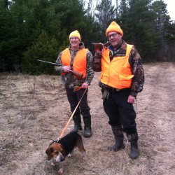 Maine game warden takes 2 BDN staffers on winter hunt for hares
