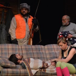 Clockwise from right: Baylor (Greg Marsanskis), Beth (Leah Bannister), Frankie (Tyler Johnstone), Mike (Randy Hunt)