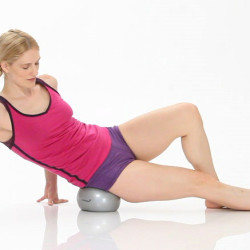 Delicious hip release work in Yamuna Body Rolling