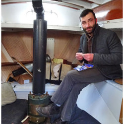 Storm-tossed Italian sailor safe in Belfast, avoids Irene
