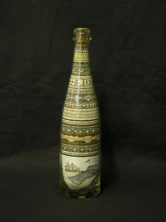 A bottle filled with colored seabird guano, or droppings, that is part of the Penobscot Marine Museum collection is currently on display in the Smithsonian''s National Museum of American History in Washington, D.C. The bottle is part of the exhibit The Norie Marine Atlas & Guano Trade, which runs now through January 2017.