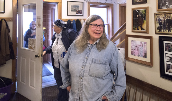 Ellen Moore has lived at Mandala Farm since the 1980s.