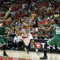 Hawks knock off slumping Celtics in overtime