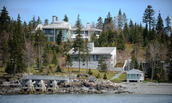 Billionaire Mitchell Rales built this mansion and associated buildings in Northeast Harbor on Mount Desert Island in 2010.
