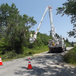 CMP copters to inspect power lines this summer