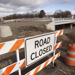 Lane closures on I-95 for Union Street bridge construction