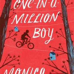 """""""The One-in-a-Million Boy,"""" by Monica Wood."""