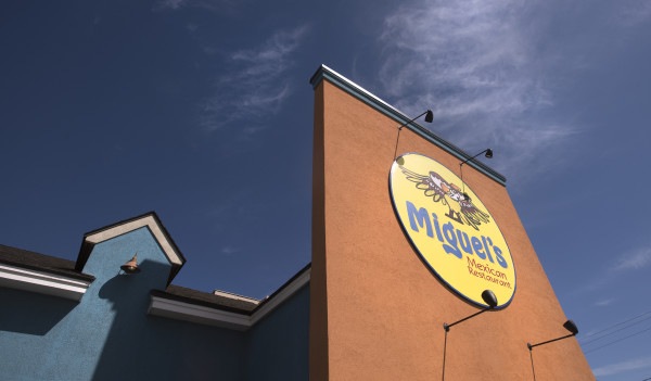 Miguel's Mexican Restaurant opened in the 1980s in Bar Harbor, was bought by Chris Jones and partners in 2005 and moved to Bangor in 2007.  Jones took over the Bangor location from his partners in 2009.