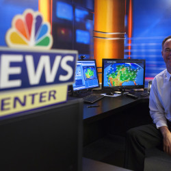 Weatherman earns seminary degree, post