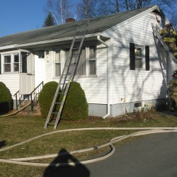 Fire damages house in Fairfield