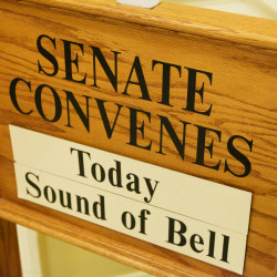 A sign at the State House in Augusta in this June 2015 file photo.