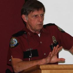 Maine State Fire Marshal Joe Thomas