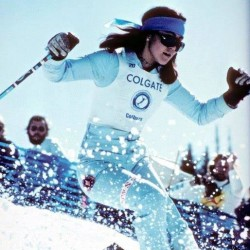 Karen Colburn, a Bangor native and freestyle ski pioneer who competed on the professional Colgate World Trophy Women's Freestyle Tour in the 1970s, is raising funds to get her, her father and her son to the U.S. Ski and Snowboarding Hall of Fame skiing history induction ceremony, happening this week in Aspen, Colorado.