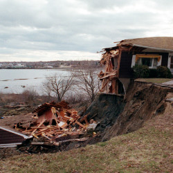 Landslides in Maine? Spring thaw, high water table can sometimes lead to dangerous erosion