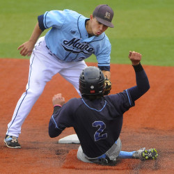 UMaine baseball team mired in offensive slump, but still atop standings